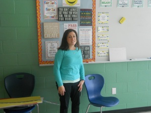 Marshall Simonds' new Special Ed. Teacher, Ms. Ganger.
