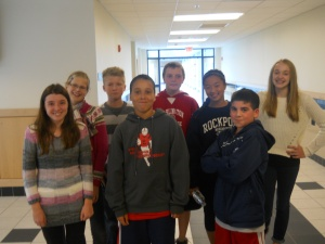 7A Student Council Members