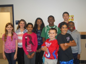 The 7C Student Council Members.