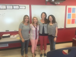 6C Teachers Mrs. MacCurtain, Mrs. Richardson, Mrs. Sullivan, and Ms. Ellis.