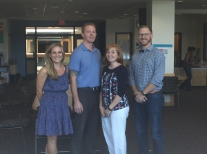 6A Teachers Mrs. Hewitt, Mr. Leslie, Mrs. Shea, and Mr. Fryman