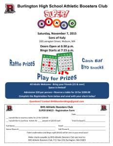 Bingo Flyer 9 9 15