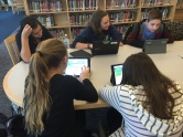 Helpdesk Students participate in Hour of Code