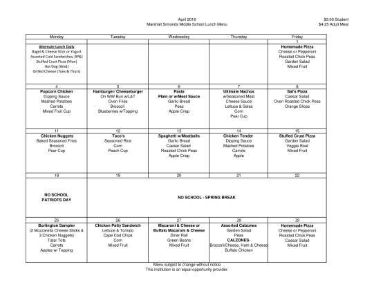 MSMS April menu 2016-1