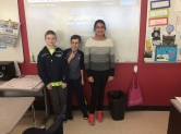 6B Students celebrate their Quizlet Victory