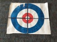 The Curling target for Sphero Curling