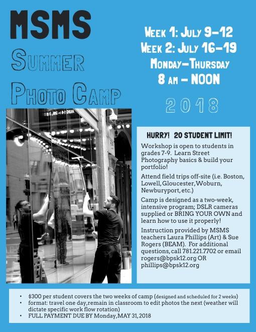 Summer Photo Camp 2018 - Flyer 1 (1).jpeg